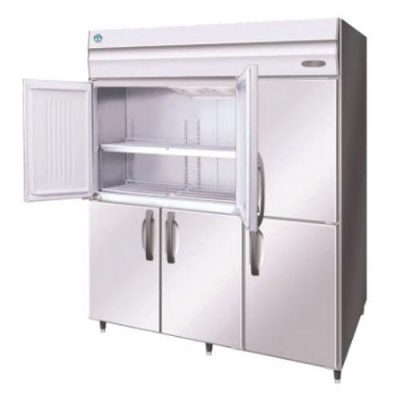 Hoshizaki HRE-187B-AHD-ML Pillarless 2 Door Upright Refrigerator