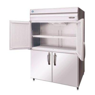 Hoshizaki HFE-147B-AHD-ML Pillarless 2 Door Upright Freezer