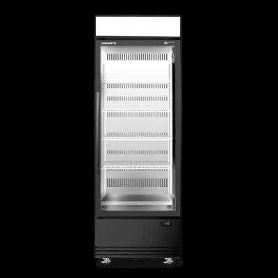 SKOPE BME600N-AC 1 Glass Door Display or Storage Fridge, Lit Sign
