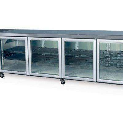 SKOPE CC700 4 Glass or Solid Swing Door Fridge