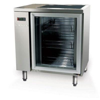 SKOPE GC110 1 Door Glass Chiller Fridge Remote