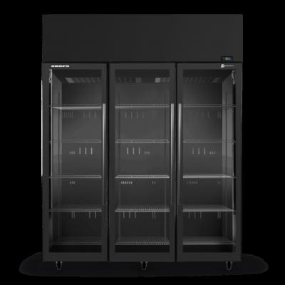 SKOPE SKT1500N-A 3 Glass Door Display or Storage Fridge
