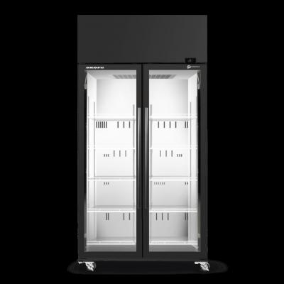 SKOPE SKT1000N-A 2 Glass Door Display or Storage Fridge