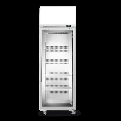 SKOPE TME650N-AC 1 Glass Door Display or Storage Fridge, Lit Sign