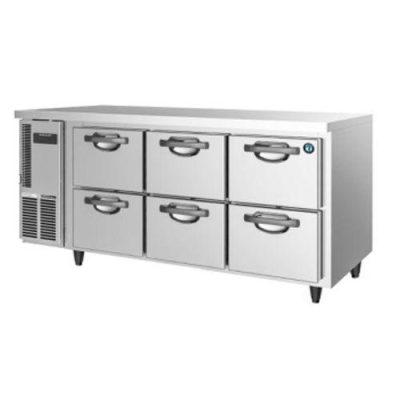 Hoshizaki FTC-167DEA-GN-6D 6 Drawer 150mm Deep Gastronorm Underbench Freezer