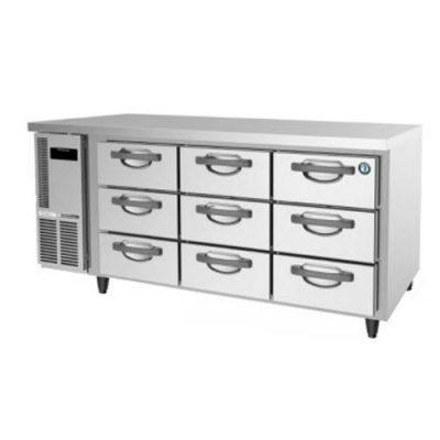 Hoshizaki FTC-167DEA-GN-9D 9 Drawer 100mm Deep Gastronorm Underbench Freezer