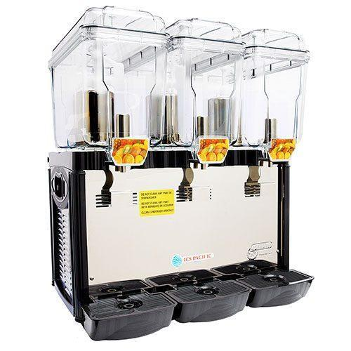 ICS Pacific PaddleCof 354 Refrigerated 3 x 18 Litre Drink Dispenser