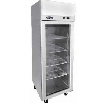 Atosa YCF9407 Stainless Steel Single Door Display Freezer 410 Litres