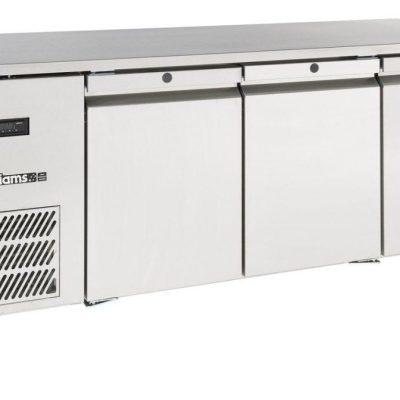 Williams LO3USS Opal 1x1 GN 3 Door Foodservice Counter Freezer