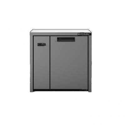 Williams LO1RSS Opal 1 Door Stainless Steel Remote Under Counter Storage Freezer