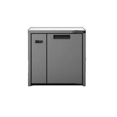 Williams HO1RSS Opal 1 Door Stainless Steel Remote Under Counter Storage Refrigerator